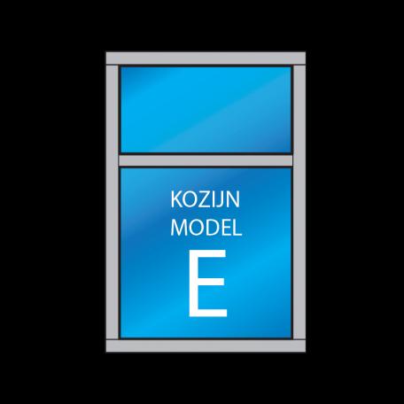 vast glas kozijn type E - kozijnenman.com