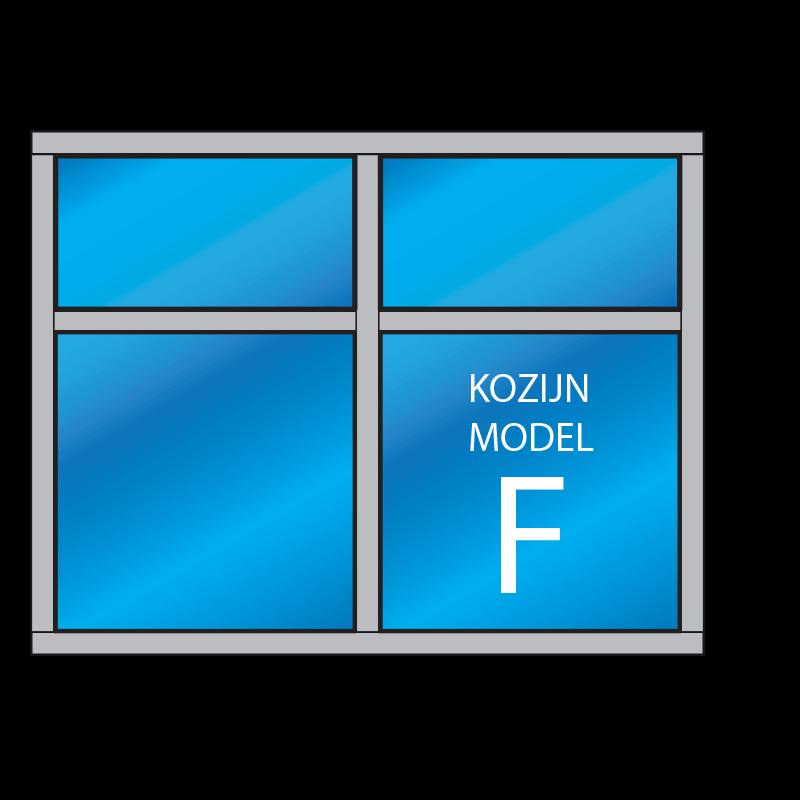 4 Vaks Kozijn Model F