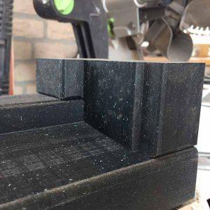 Kunststof neut 66×110 (rechts) buiten draaiend