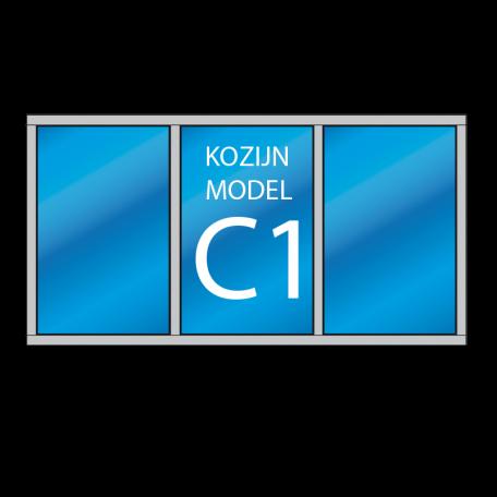 houten kozijn C1 - dekozijnenman.frl