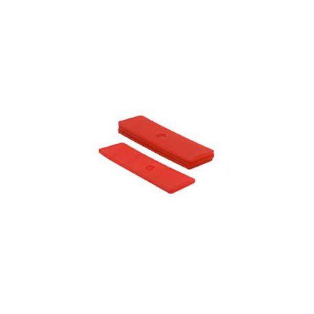 beglazingsblokjes rood- 3mm