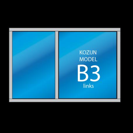 Kozijn B3 links