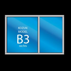 Kozijn B3 - dekozijnenman.frl