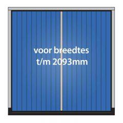 Houten garagedeuren met kozijn – max. 2093x2479mm
