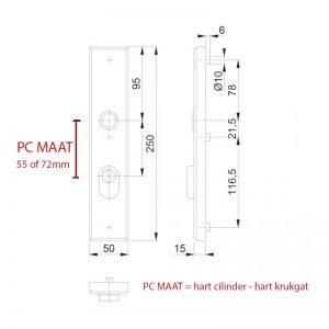 PC-Maat deurschilden