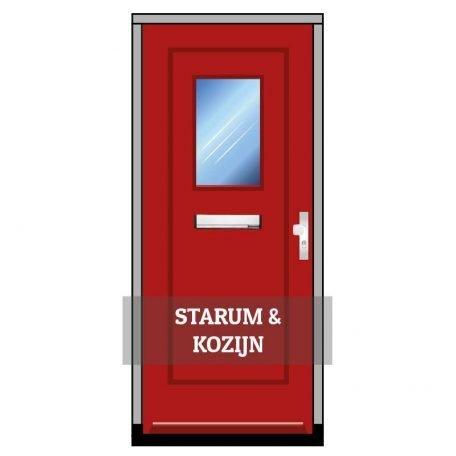 Voordeur Starum met kozijn