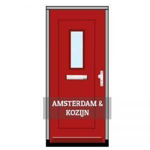 voordeuren Amsterdam incl. kozijn