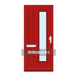 Voordeur Burdaard 1